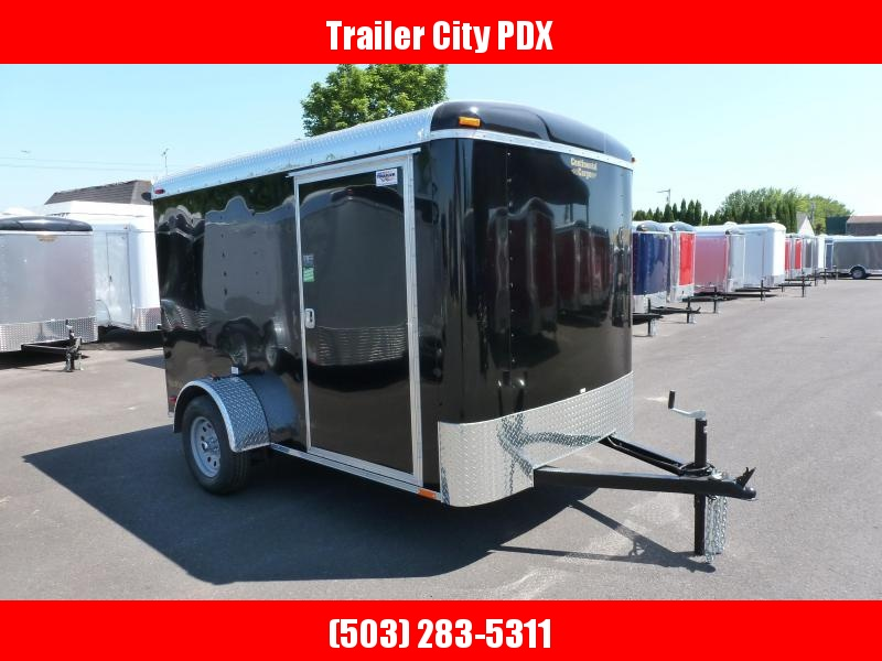 Continental Cargo 6 X 10 3K TALL BLACK RAMP Enclosed Cargo Trailer