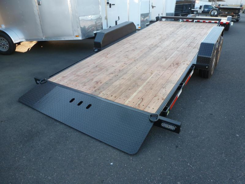 2020 Summit 7 X 16 10K Tilt Flatbed Trailer