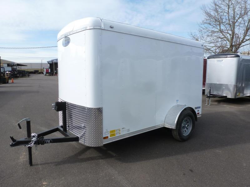 2020 Continental Cargo 5 X 8 3K RAMP WHITE Enclosed Cargo Trailer