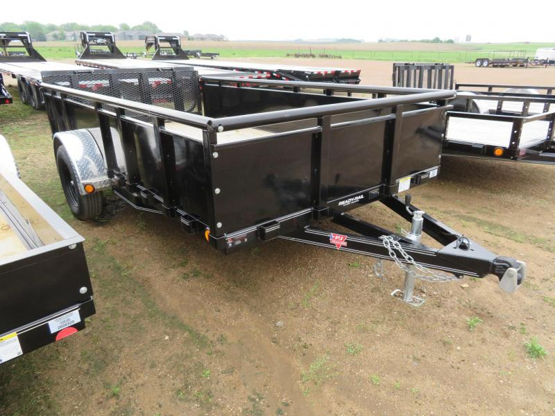 2020 PJ Trailers 12 Solid Side Utility Trailer