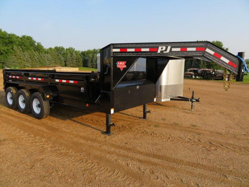 2020 PJ Trailers 16 GN Triple Axle Dump Trailer