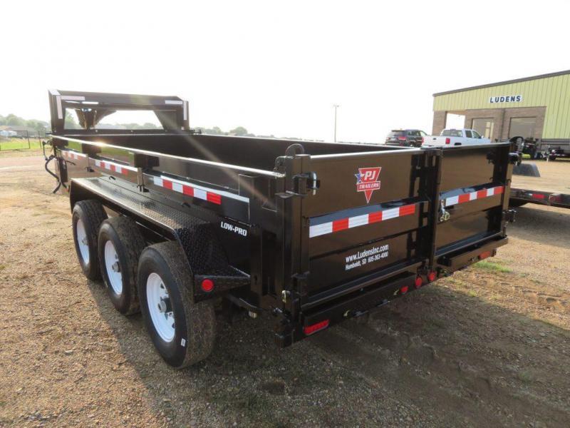 2020 PJ Trailers 16 GN Triple Axle Dump Trailer