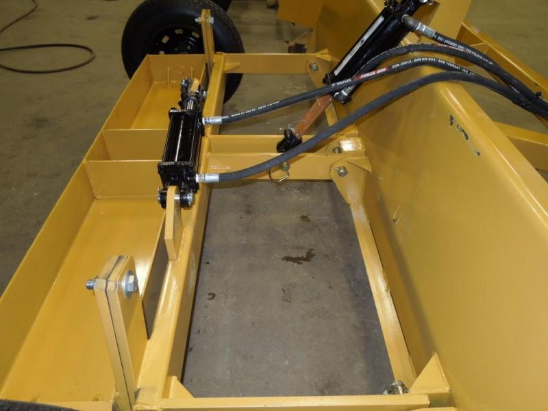 Diamond H Resources 10' Tilting Pulltype Boxscraper w/cylinders
