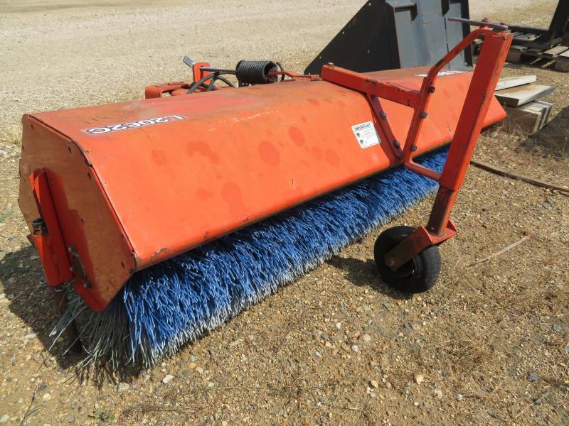 Kubota L2062C Sweeper Attachment