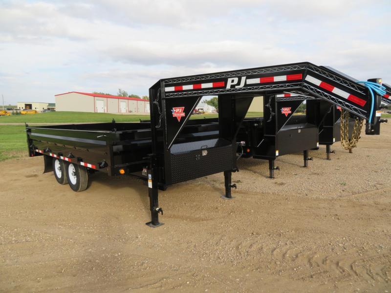 2020 PJ Trailers 16 Deckover Dump Trailer