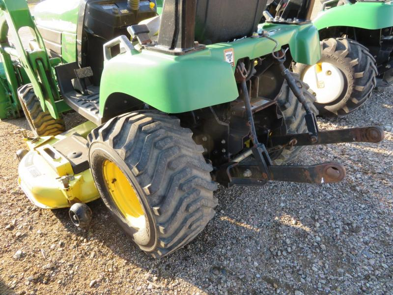 2005 John Deere 2210 Tractor w/Loader and Mower