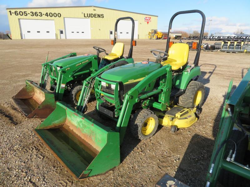 2005 John Deere 2210 Tractor w/Loader and Mower