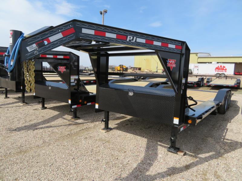 2019 PJ Trailers 24 GN Superwide Tilt Trailer