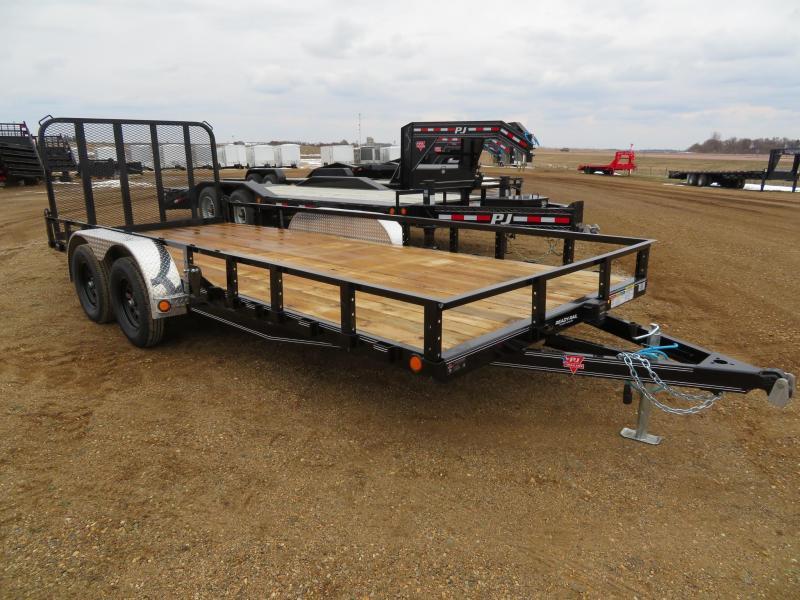 2020 PJ Trailers 18 Tandem Axle Utility Trailer