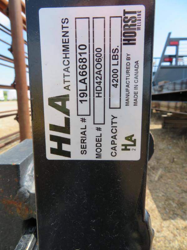 New HLA Horst Pallet Forks Loader Global / Euro