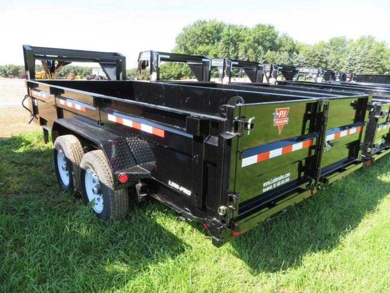 2020 PJ Trailers 16 Low Profile GN Dump Trailer