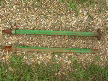 Used John Deere - Drive Shaft for 4 Row Wide for 40 Series Cornhead AN102128