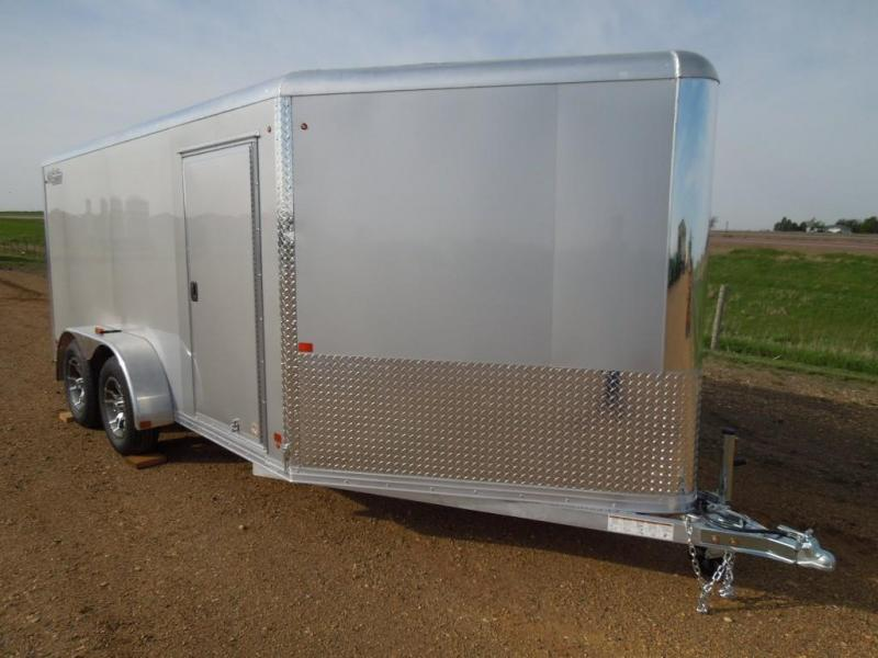 2020 High Country 7 x 14 Enclosed Cargo Motorcycle Trailer