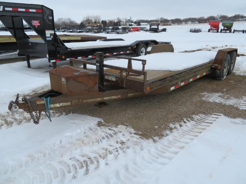 2016 PJ Trailers 22 Full Tilt Equipment Trailer