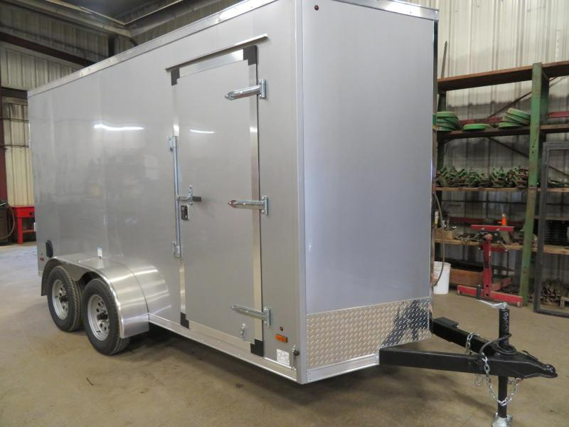 2020 Forest River 6 x 14 Enclosed Cargo Trailer