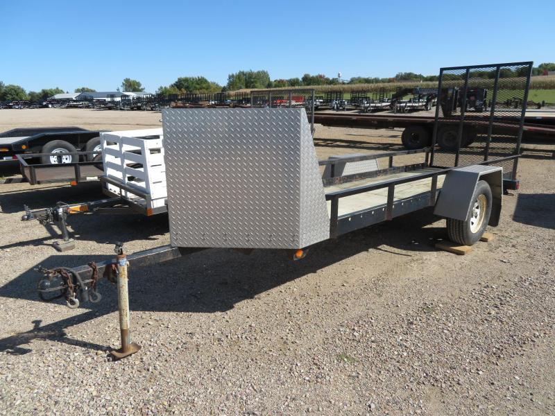 Used 4 x 14 Utility Trailer