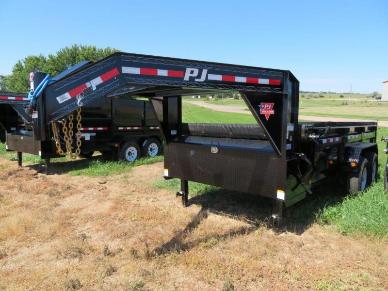 2020 PJ Trailers 14 Low Profile GN Dump Trailer