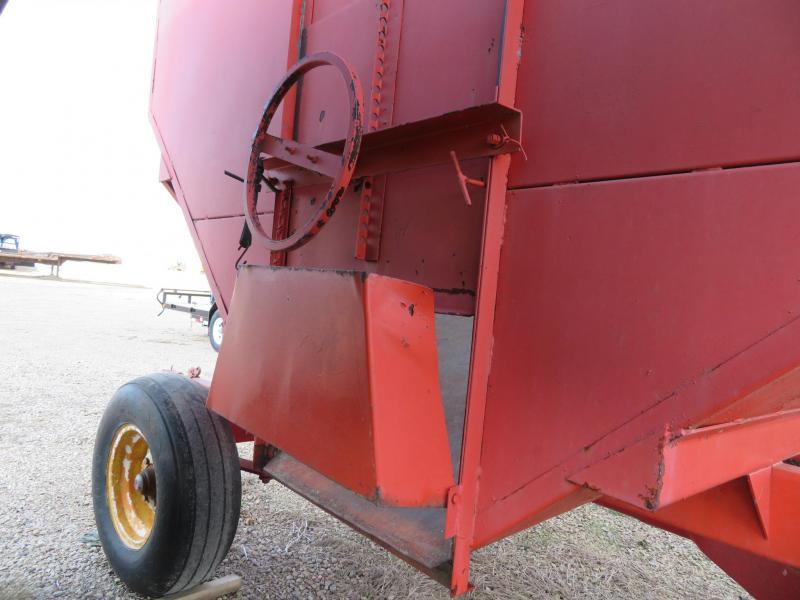 Orange Gravity Wagon with Running Gear