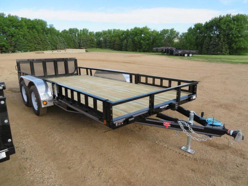 2020 PJ Trailers 16 Tandem Axle ATV Utility Trailer