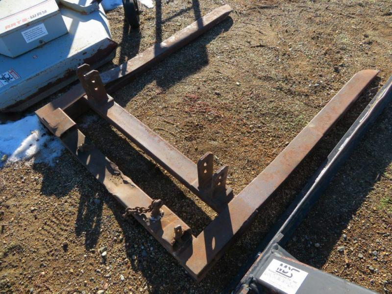 Used Bale Fork - 3 Point