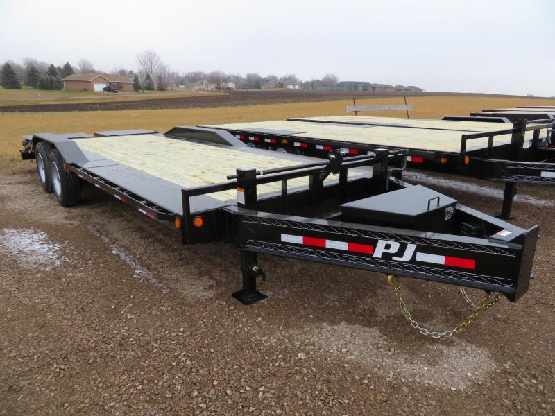 PJ Trailers 22 HD Superwide Equipment Trailer