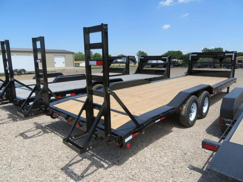 2020 PJ Trailers 26 Superwide Equipment Trailer