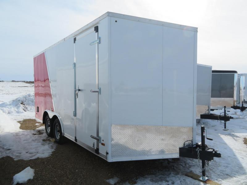 2020 US Cargo 8.5 x 16 Enclosed Cargo UTV Trailer