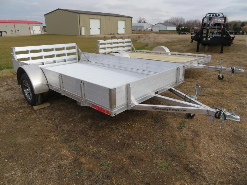 New 2020 High Country 80 x 12 Utility Trailer