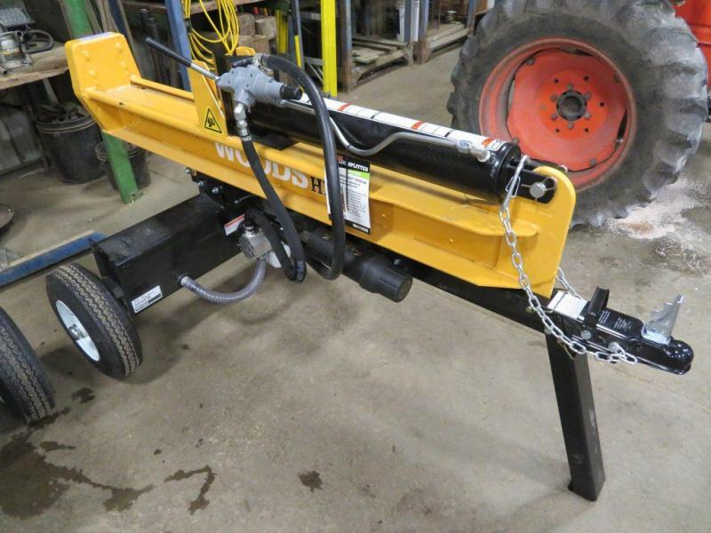 New Woods HLS27 27 Ton Horizontal / Vertical Gas Log Splitter with Kohler Engine - assembled (Other)