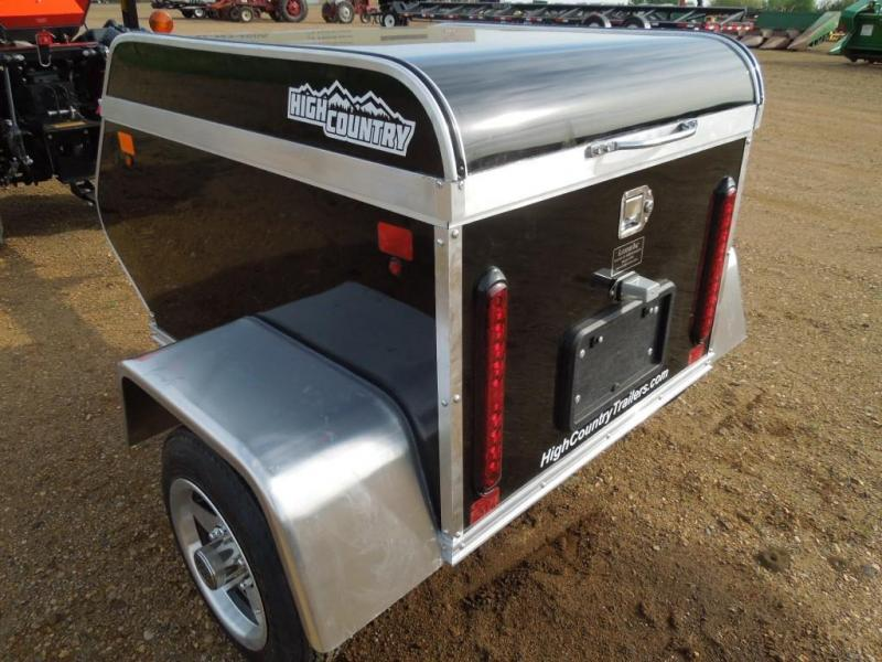 2020 High Country 3 x 4 Enclosed Cargo Travel Trailer