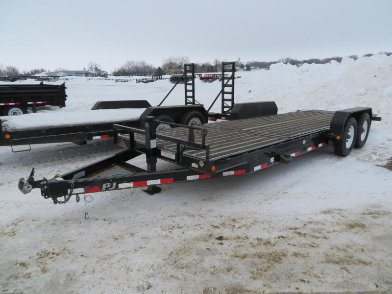2014 PJ Trailers 22 HD Tiltbed Equipment Trailer