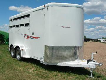 2020 Titan 3H BP Horse Trailer