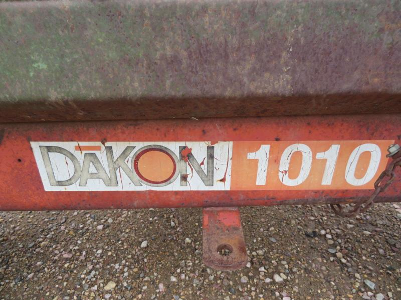 Dakon 1010 Gravity Wagon with Running Gear