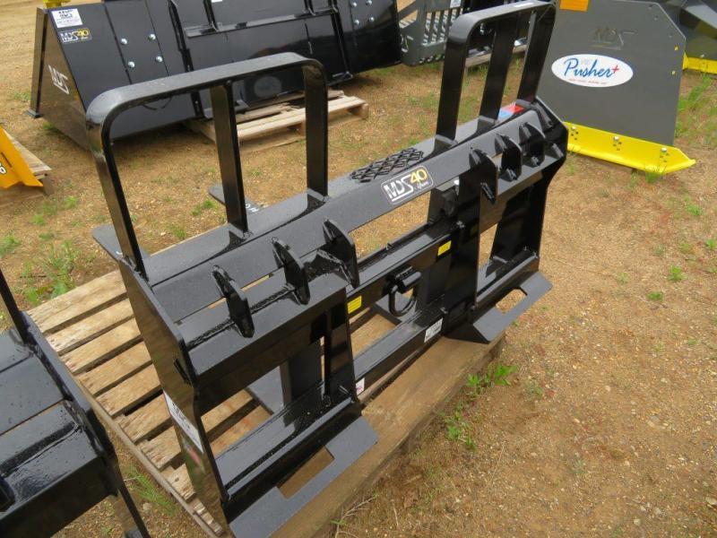 New MDS Skid Steer Pallet Forks