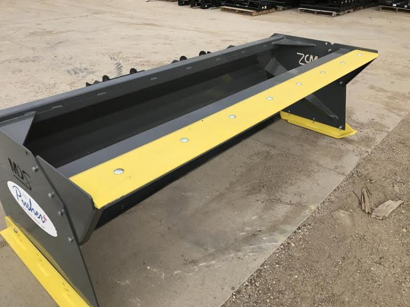 MDS 8' Skid Steer Snow Pusher