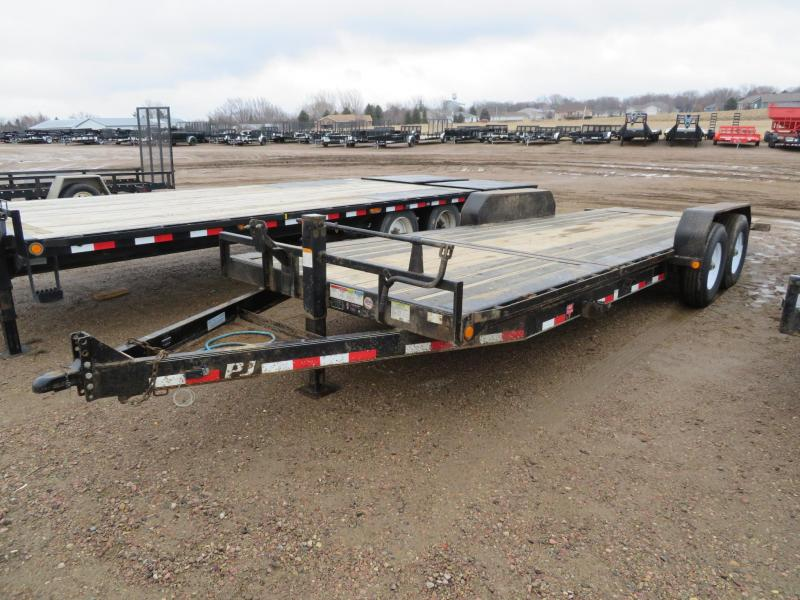 2018 PJ Trailers 22 Tiltbed Equipment Trailer
