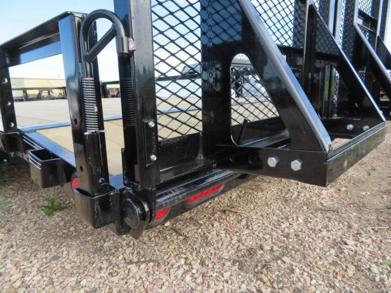 2020 PJ Trailers 18 Tandem Axle ATV Utility Trailer