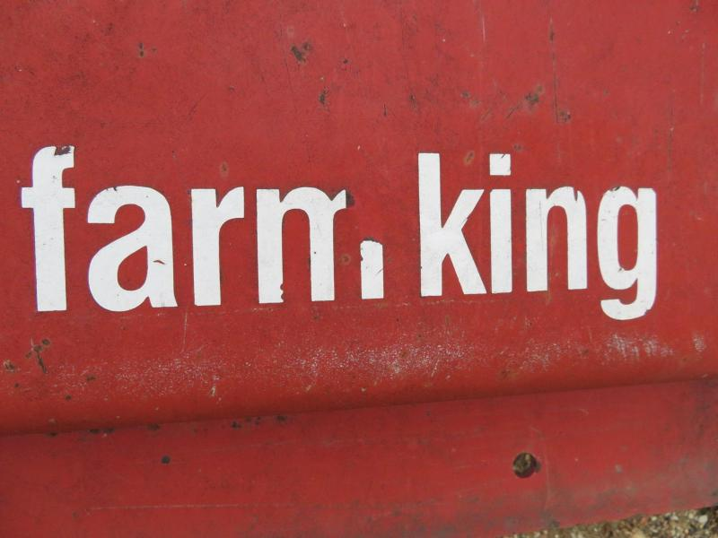 "Used Farm King 84"" 3 Point Finishing Mower"