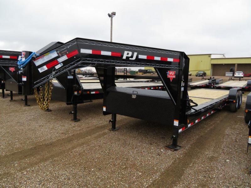 2019 PJ Trailers 26 GN Tiltbed Equipment Trailer