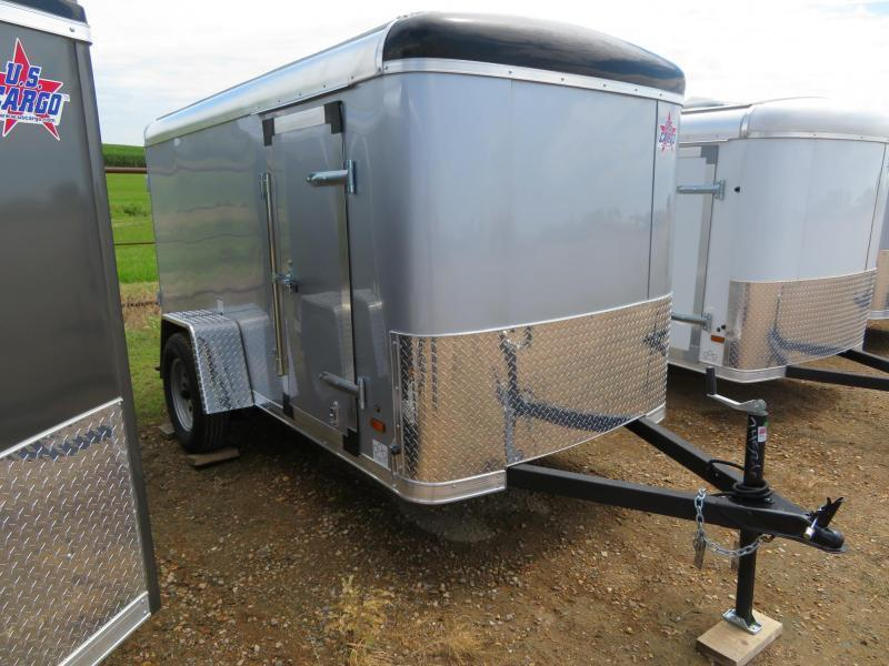 2019 US Cargo 5 x 8 Enclosed Cargo Trailer