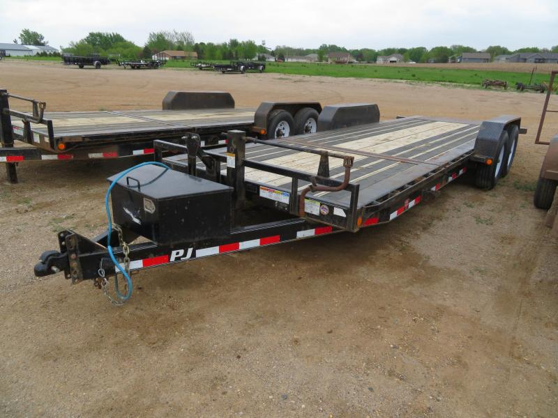 2018 PJ Trailers 22 Tiltbed HD Equipment Trailer