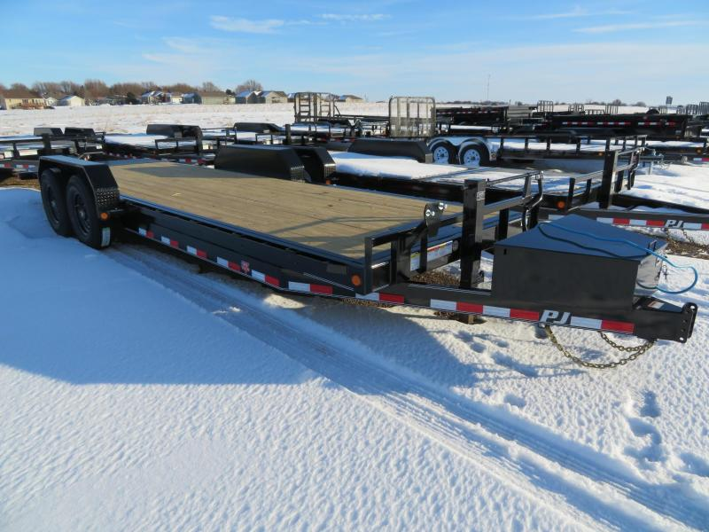 2020 PJ Trailers 22 Full Tilt Equipment Trailer