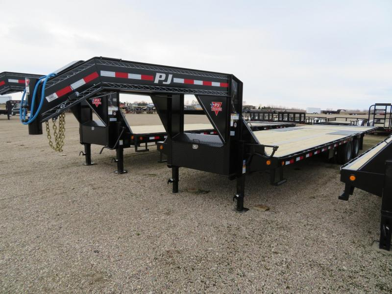 2020 PJ Trailers 32 Low Profile Hydraulic Tail GN