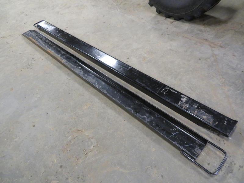 Black 84 Pallet Fork Extensions