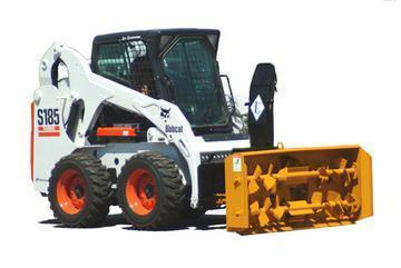 """New Lorenz 6610 66"""" Skid Steer Snow blower"""