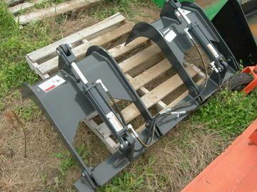 "New Stout 60"" Skid Steer Grapple"