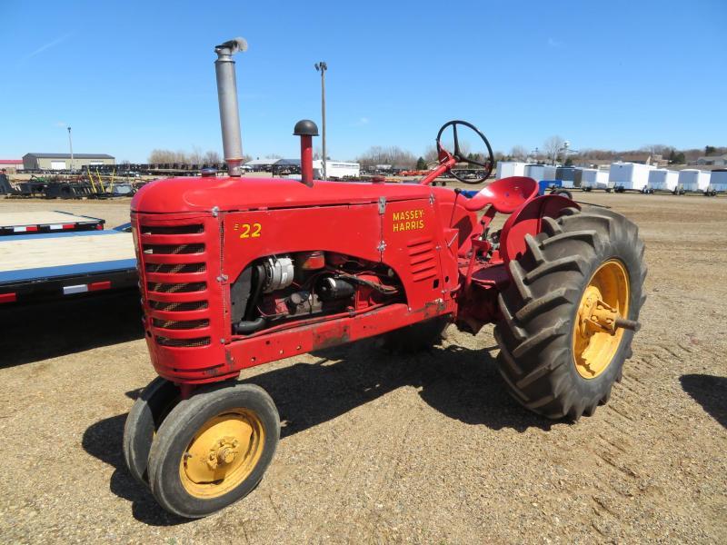 1951 Massey Harris 22 Tractor