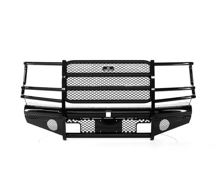 GMC 2008-10 2500 HD   - New Ranch Hand Legend Front Bumper Replacement