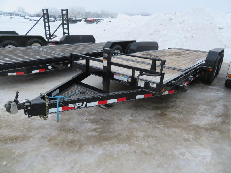 2017 PJ Trailers 20 HD Tiltbed Equipment Trailer