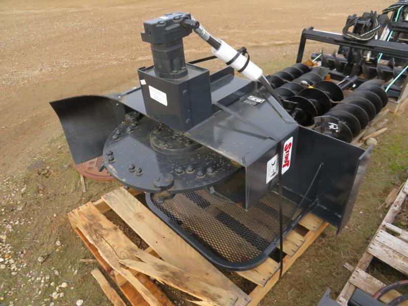 New Stout SG13-R Stump Grinder for Skid Steer